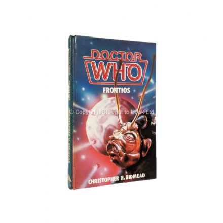 Doctor Who Frontios by Christopher H. Bidmead Hardback First Edition W.H. Allen 1984
